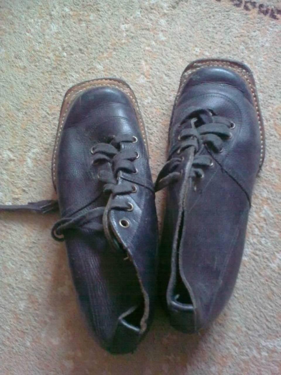 ботинок на удочке