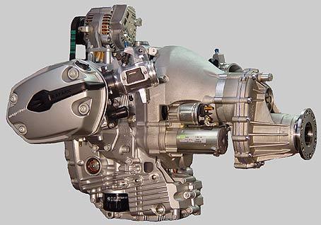 Двигатели мотоцикла бмв