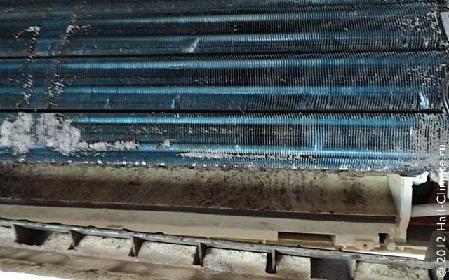 Чистка теплообменника внешнего блока теплообменник на котел флорида