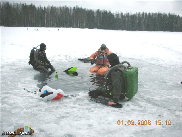 Акваланг ребризер и подводный