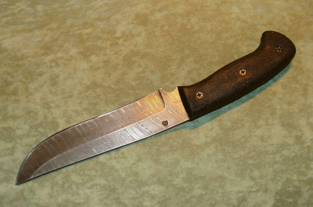 Таёжный нож своими руками