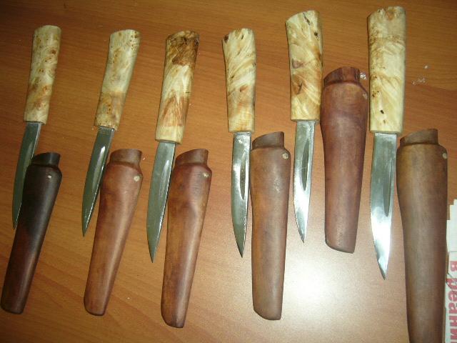 Простой нож своими руками
