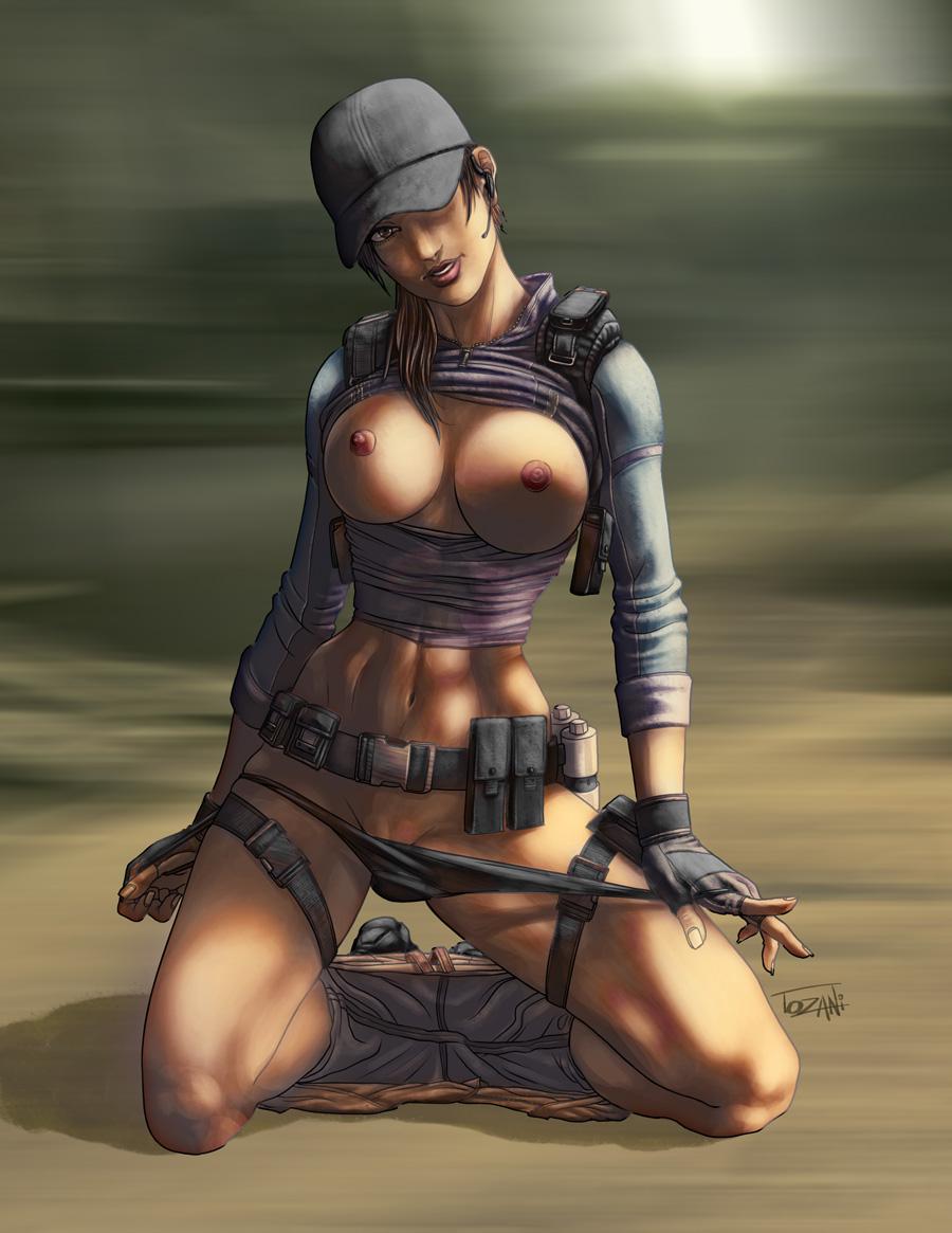 Nude evil art hentai clip