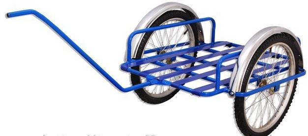 Тележка своими руками из велосипеда