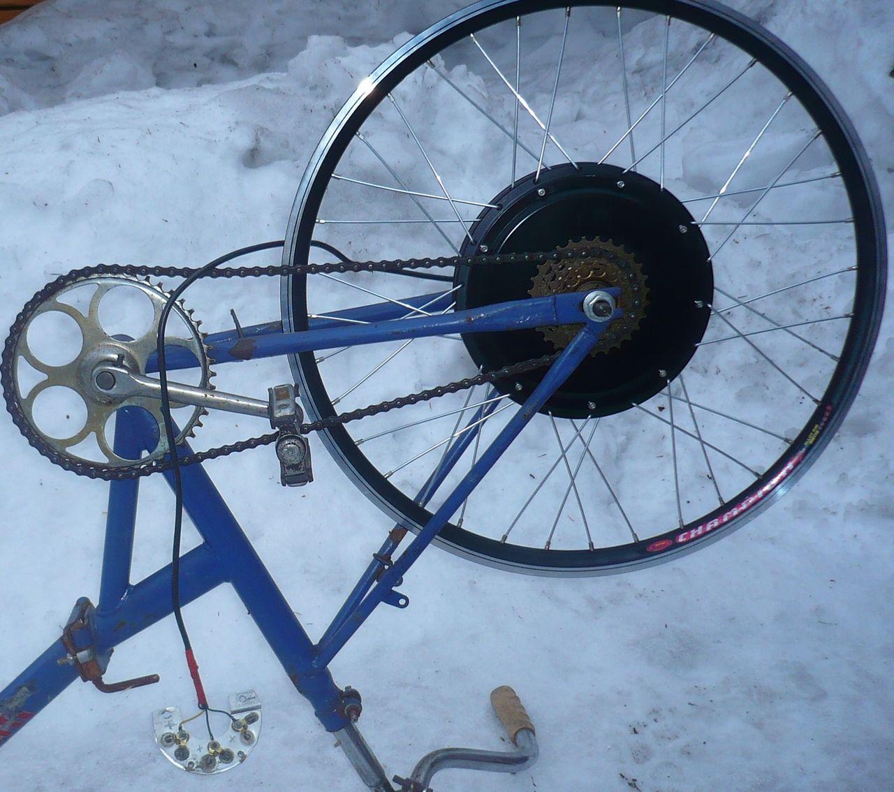 Электрогенератор на велосипед своими руками 5