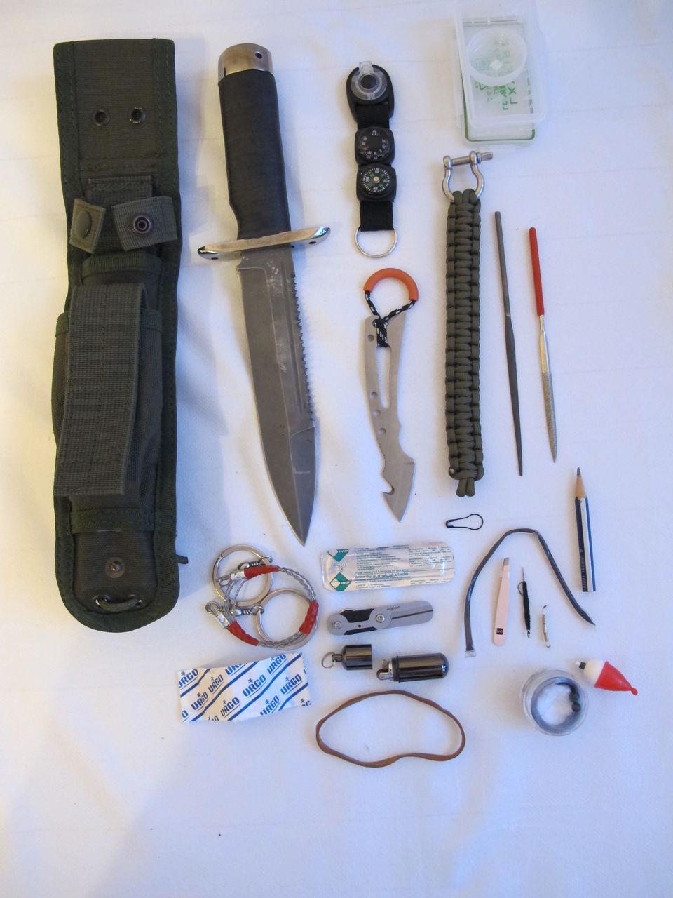 Многофункциональные ножи для выживания своими руками 88