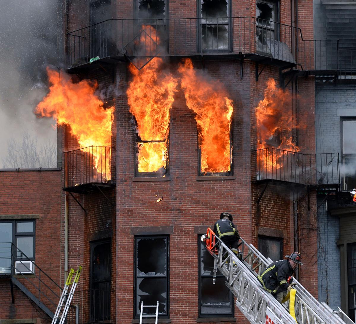 Картинки с пожаром в доме