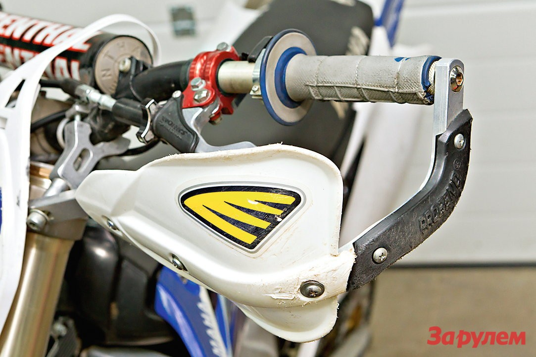 Защита рук мотоцикла своими руками