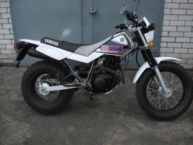 Продам мотоцикл эндуро ямаха tw200