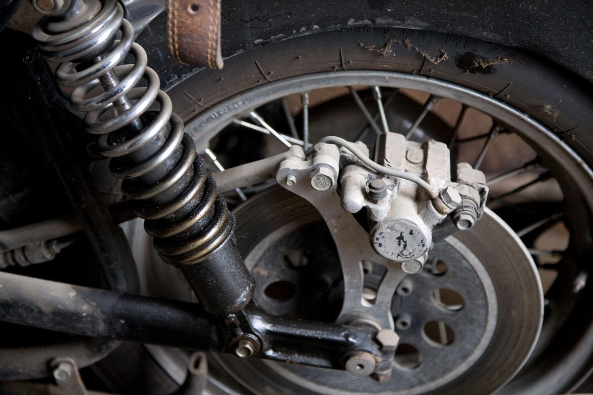 Тормозные диски для мотоцикла своими руками 98
