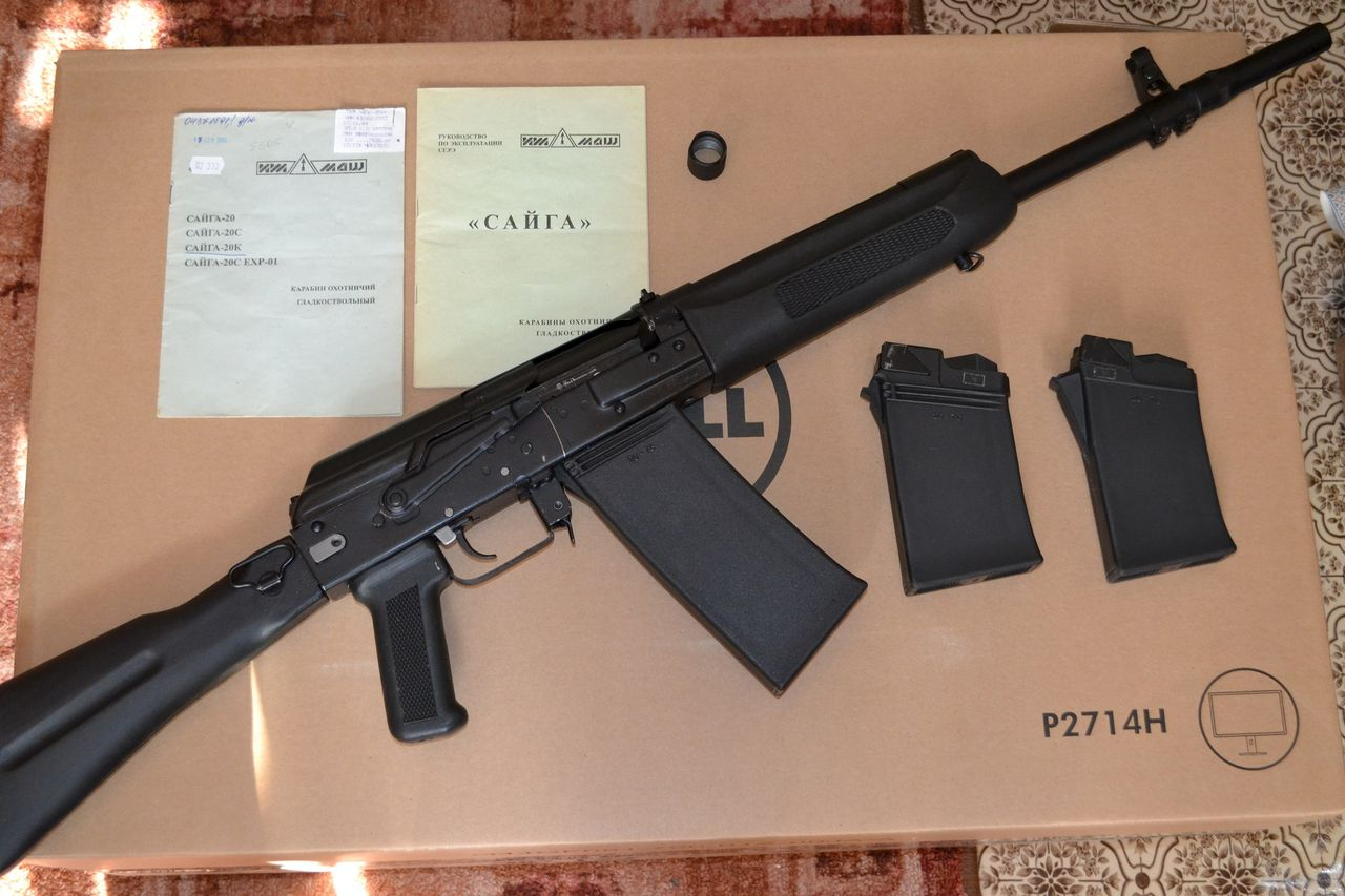 Запчасти для карабина Сайга-2 (СОК 2 ) — магазин