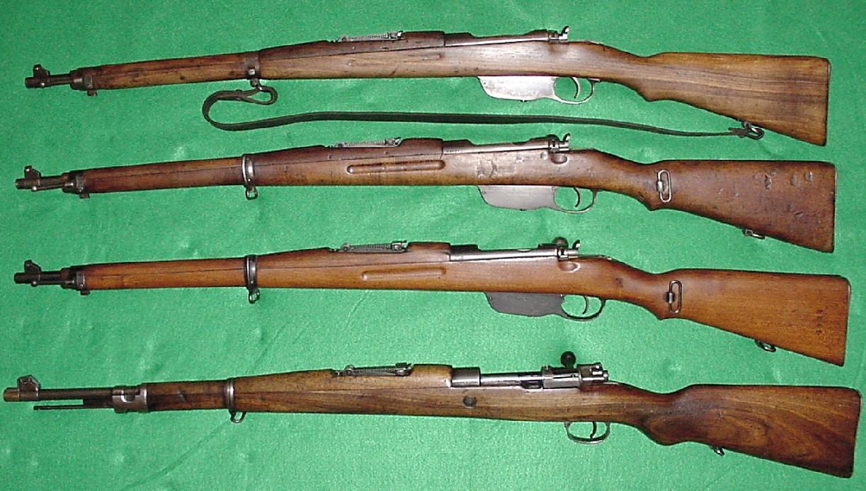 Маузеры 19 столетия • Популярное оружие