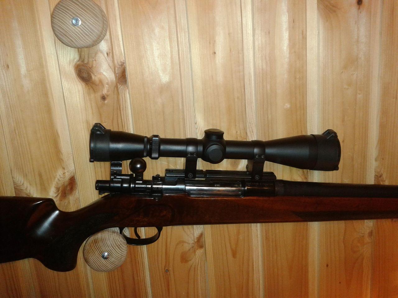 Как ставить оптику на Маузер 98 - Популярное оружие