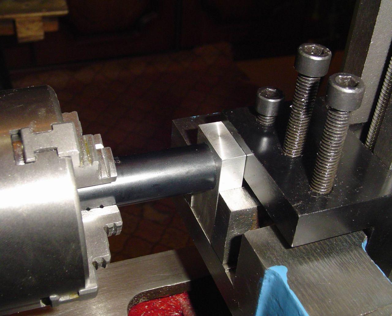 Приспособления для фрезерования на токарном станке по металлу своими руками 24