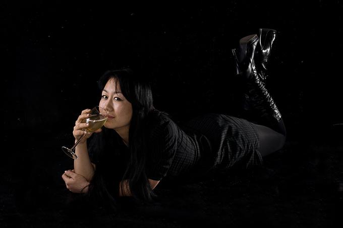 Студийные фотографии киргизской девушки. фотосъемка портфолио. фотограф Кир