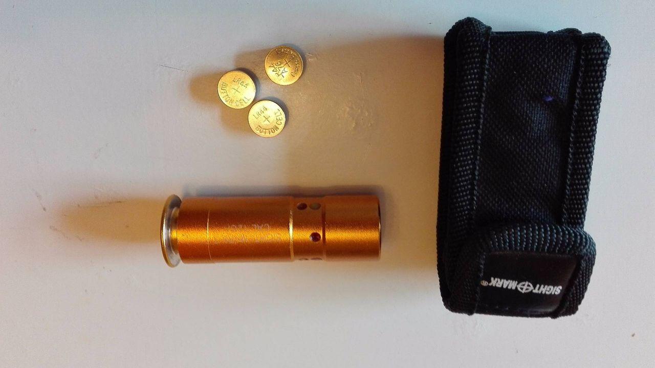 Лазерный пристрелочный патрон своими руками