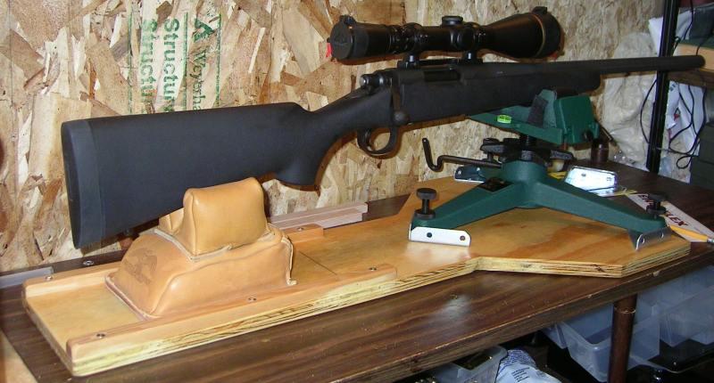 Как сделать станок для пристрелки пневматики фото 731