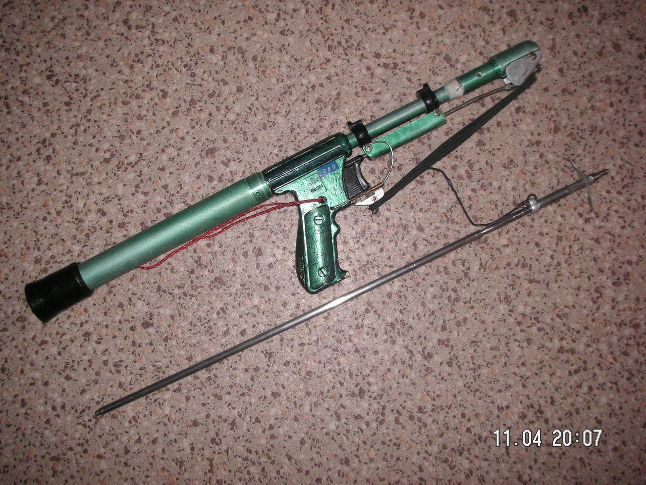 Ружье для подводной рыбалки своими руками 95