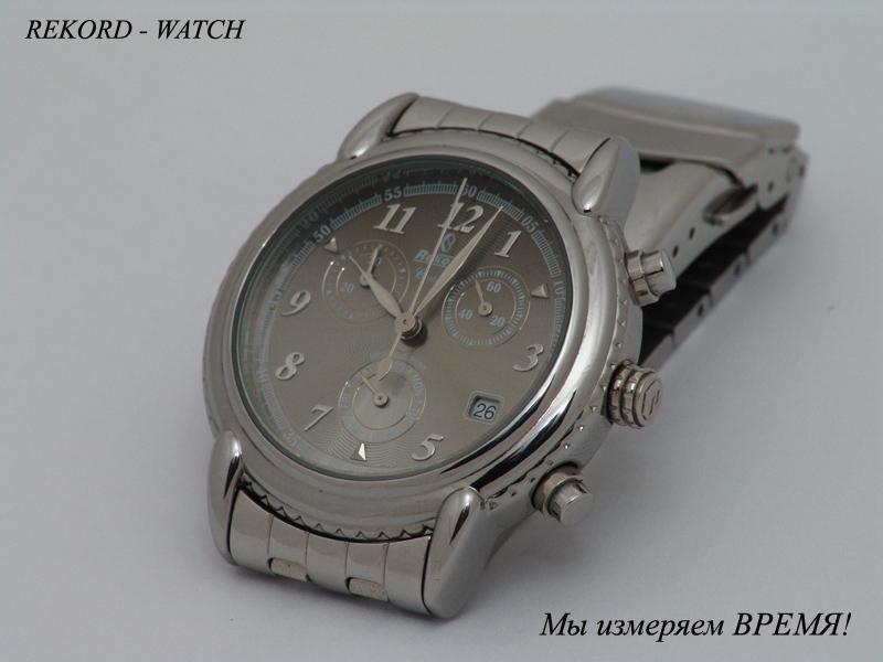 Описание товара механические наручные часы в белом хромированном корпусе с позолоченными элементами декоративной отделки.