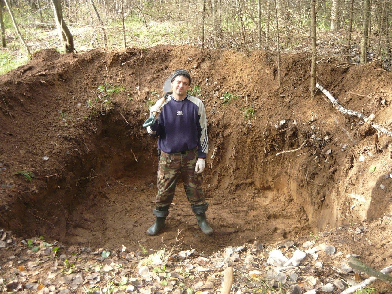 Как построить землянку в лесу своими руками с печкой 76