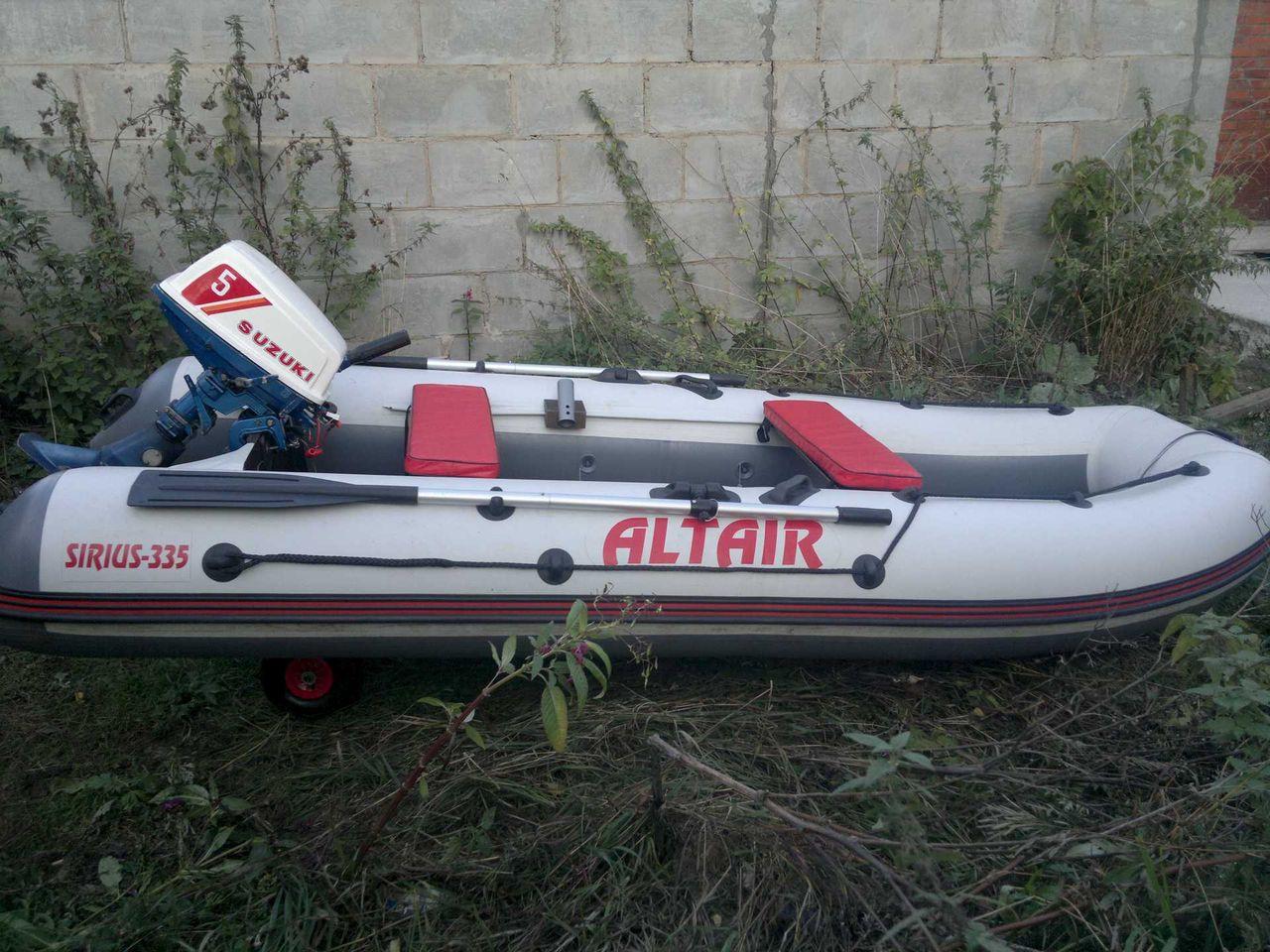 официальный сайт производителя лодок пвх альтаир
