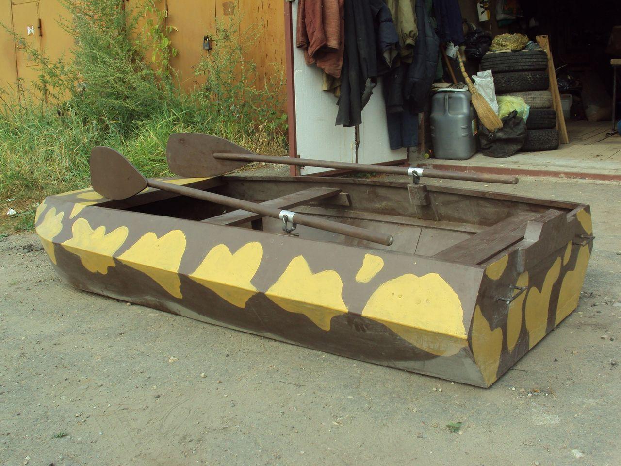 Лодка для охоты из фанеры своими руками 40