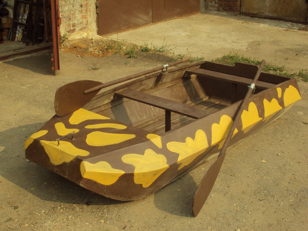 Лодка для охоты из фанеры своими руками 1