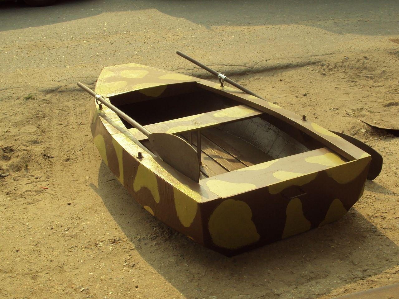 2-х местная самодельная лодка