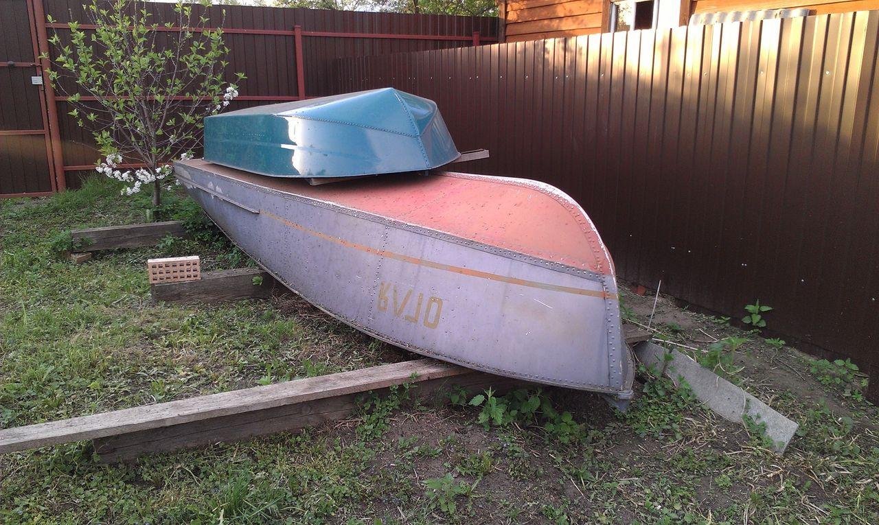 двухместная лодка малютка
