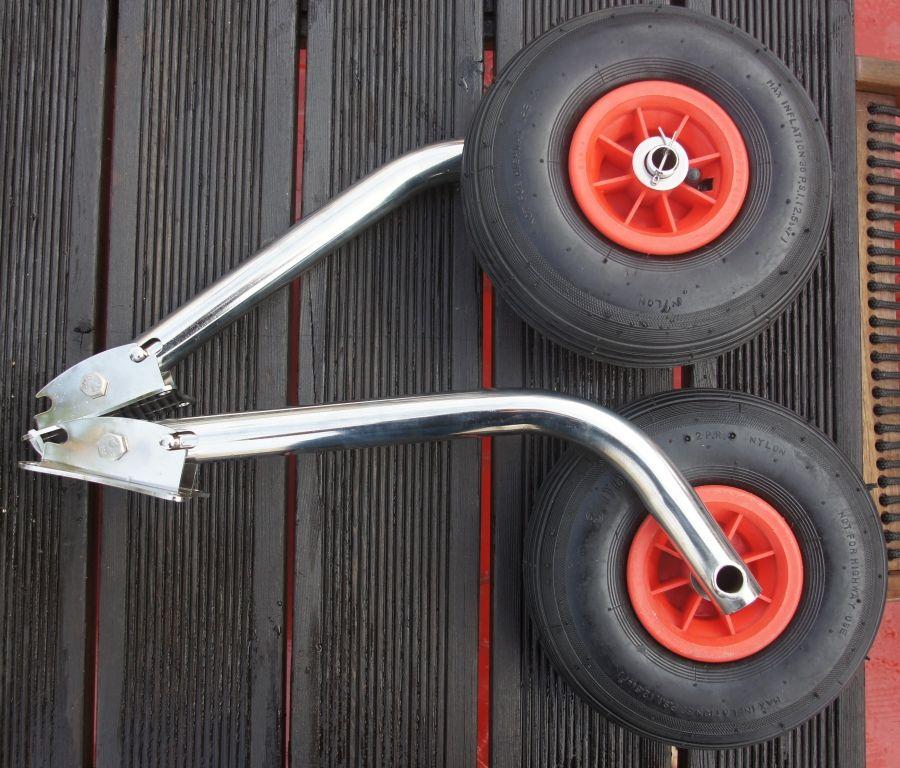 колеса транспортировочные для надувных лодок