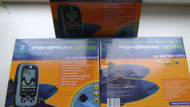 эхолот jj-connect fisherman 220 ice edition mark ii купить