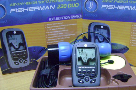 характеристики эхолота jj-connect fisherman 220 duo ice edition