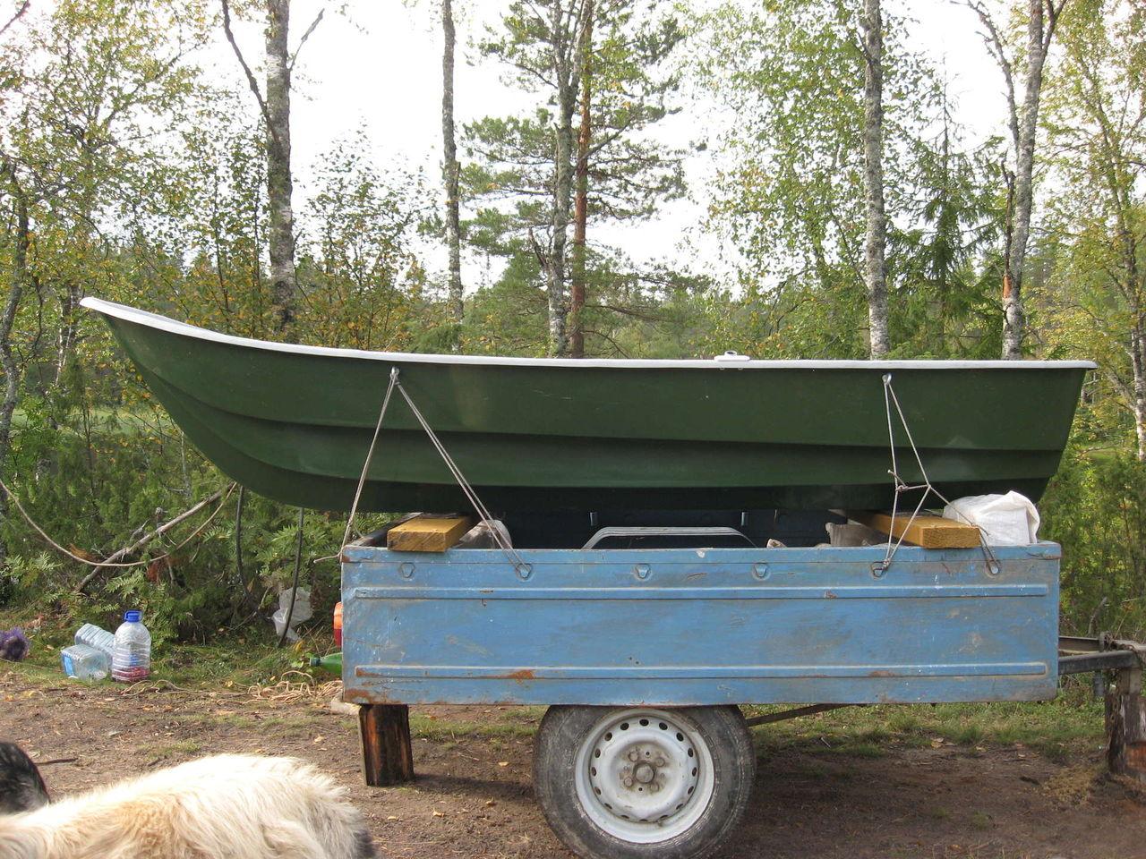 крепление лодок пвх на прицепе кто