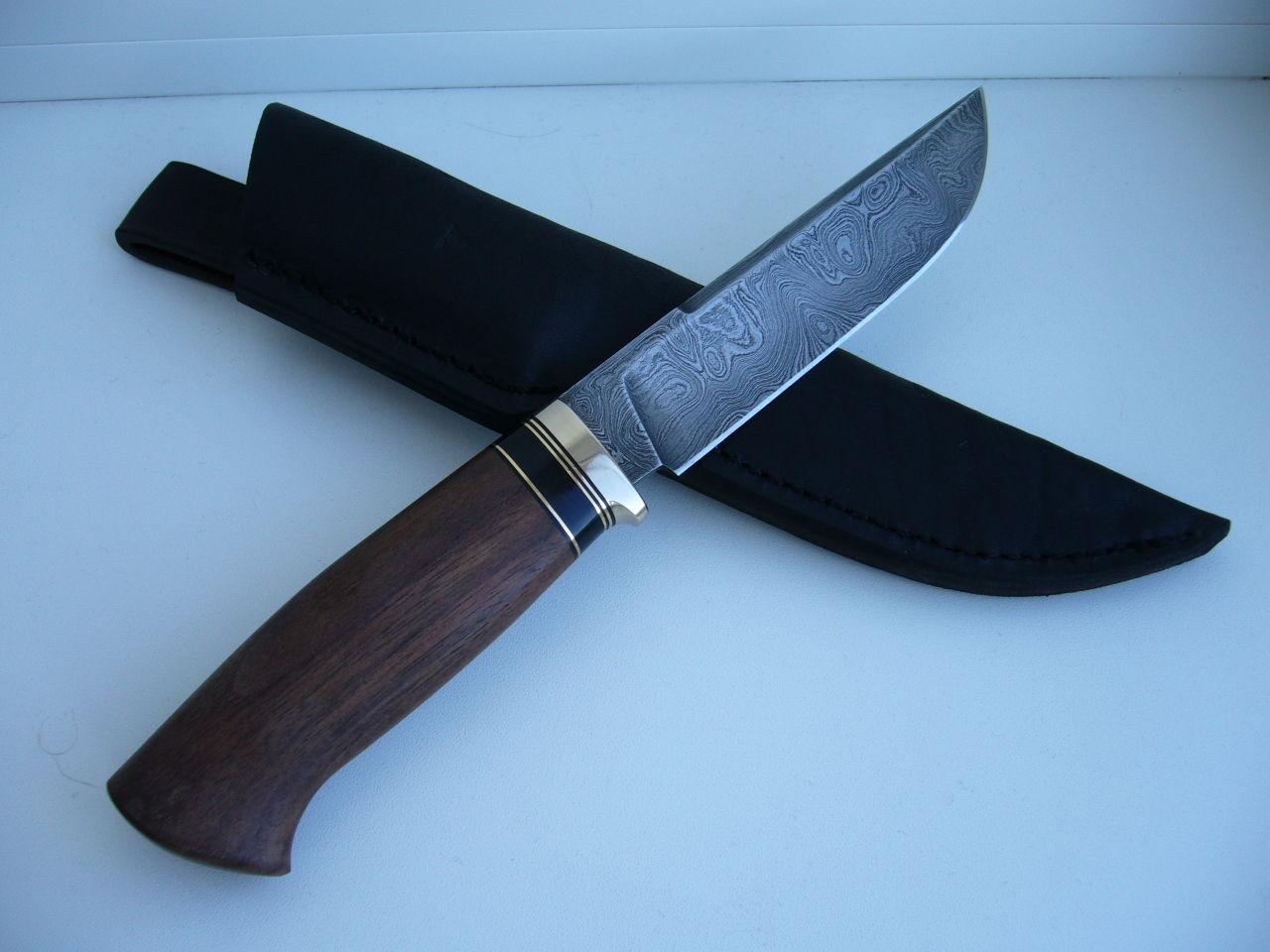 купить кованый нож для охоты и рыбалки