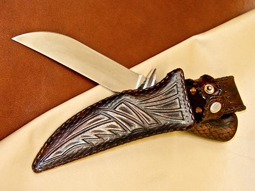 Изготовление ножен под заказ нож opinel 10 что лучше углеродистая или нержавеющая