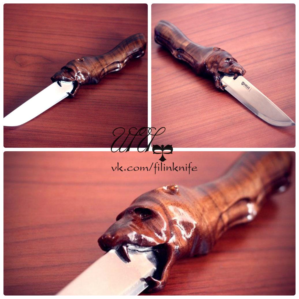 Изготовление рукояток для ножей под заказ