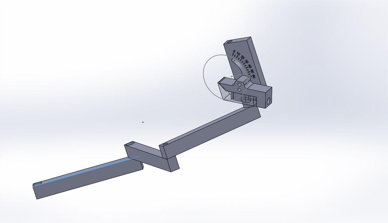 Манипулятор для заточки ножниц