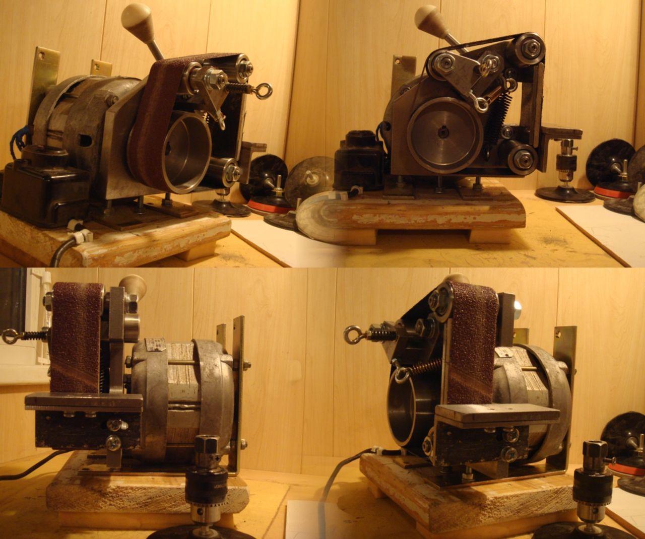 Гриндер с двигателем от стиральной машины своими руками 90