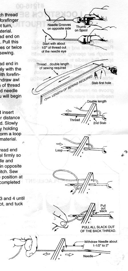 Ручная машинка для шитья инструкция