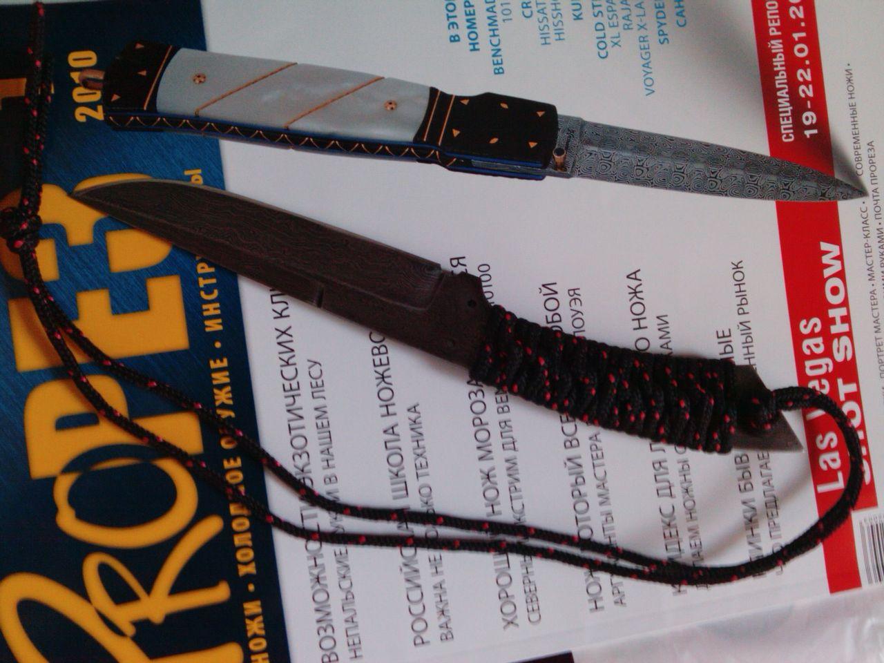 Как сделать на нож ручку из веревки  993