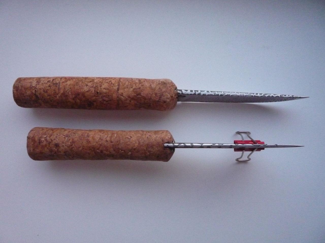 ручки для удочек из пробок от шампанского