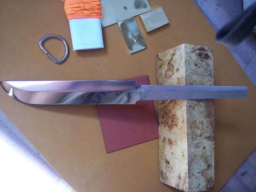 Все для изготовления ножей своими руками 624