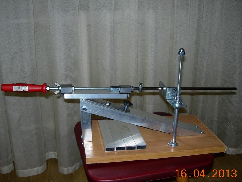 Заточка ножей приспособление своими руками фото
