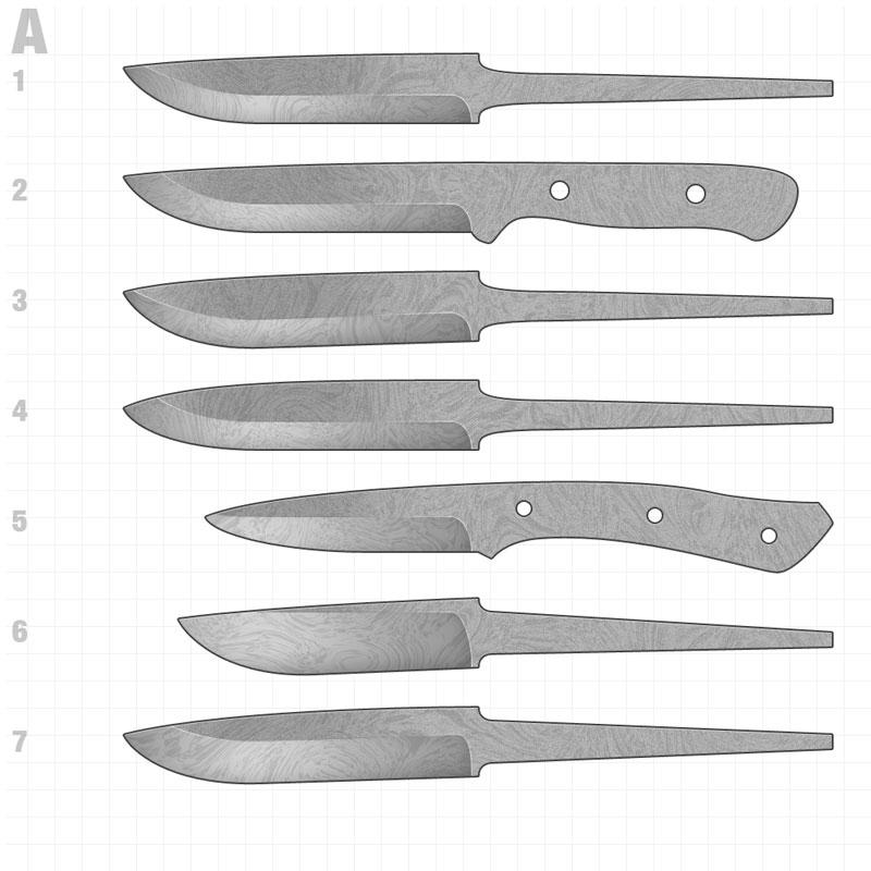 Клинки для ножей своими руками