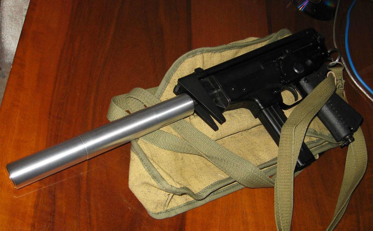 Переделка пневматического пистолета (МР-654К) в боевой 8