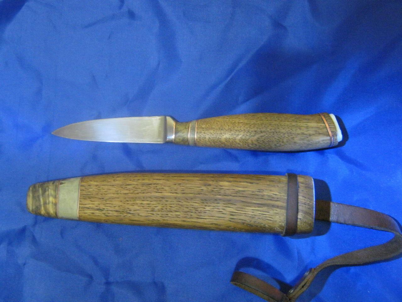 Нож столовый своими руками
