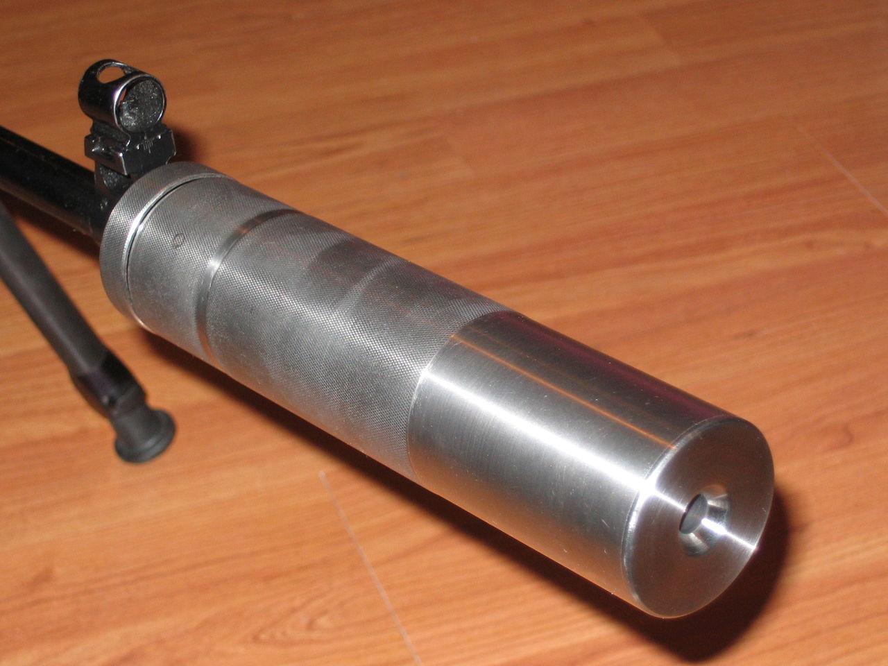 Как сделать глушитель на малокалиберную винтовку