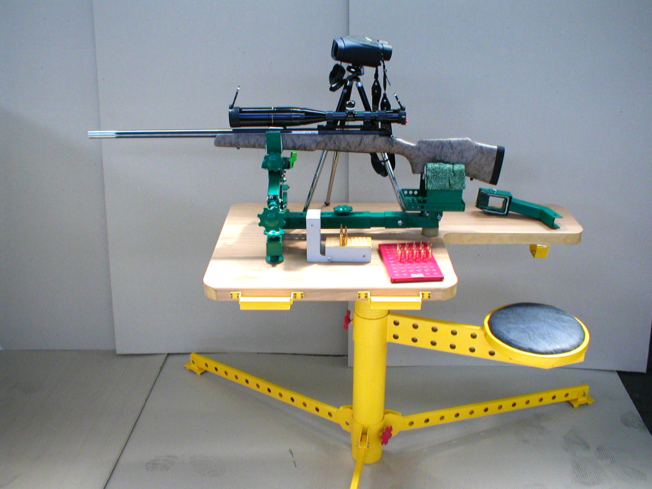 Пристрелочные станки своими руками