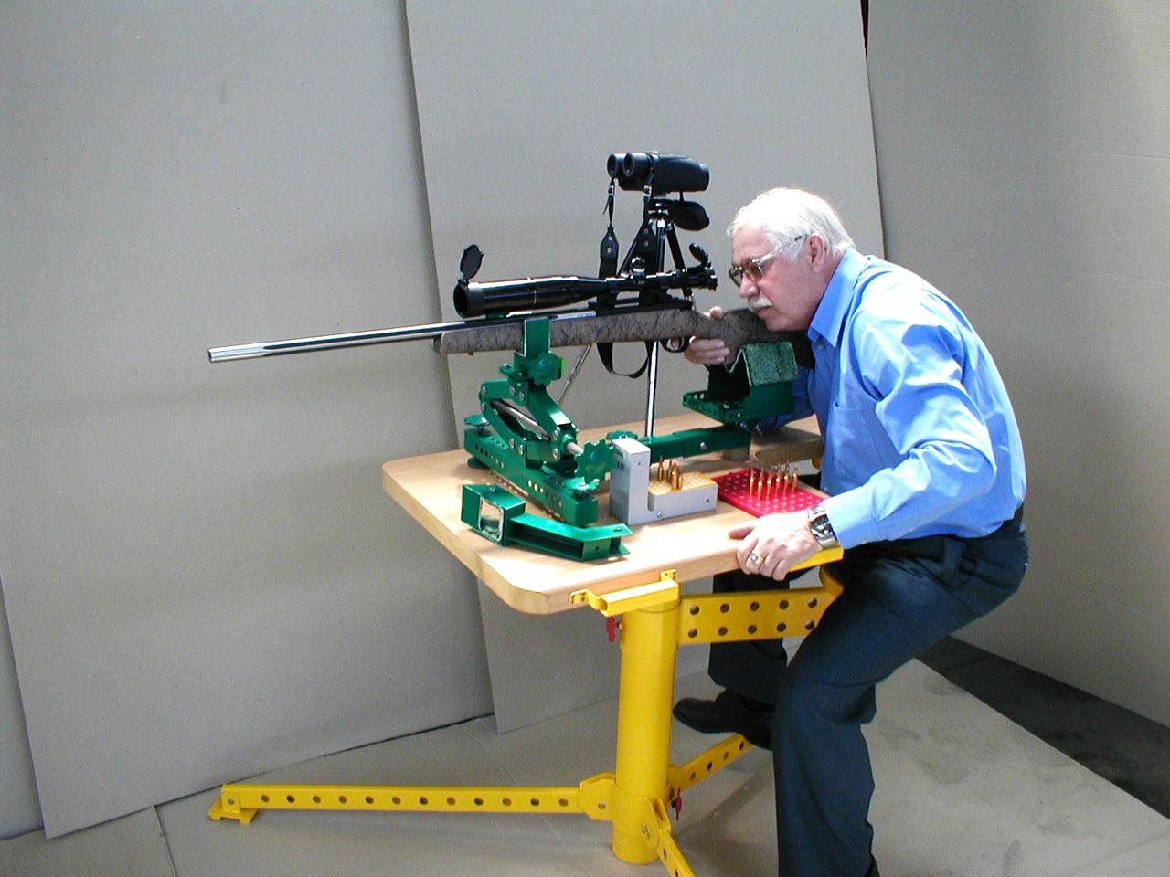 Прибор для пристрелки своими руками