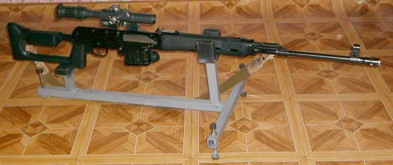 Устройство для пристрелки карабина 97